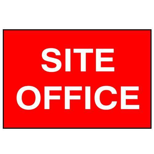 Site Office Sign - PVC