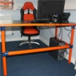 Tube Clamp Office Desks