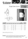 Single Male Swivel 173MD (48.3mm)