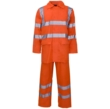 Hi Vis 2 Piece Rainsuit Orange