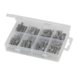Nylon Wall Plugs Pack, 114 Pieces