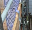 PLASTIC BRICKGUARD (HEXGUARD) - 100 Pack - Blue