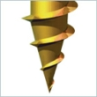 Solo Woodscrew PZ2 CSK - YP 5.0 X 100 (Box of 100)