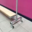 Scaffolding Clothes Rail Kit with Timber Shelf - 170cm x 160cm
