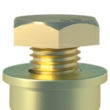 Shield Anchor Loose YP M8/25L (Box of 50)