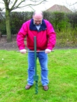 Spyrabase Hurricane Ground Anchor 900mm - 1300kg