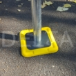 Tredder Plates - use with scaffolding Base Jacks - Yellow (25 pack)