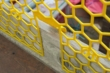 PLASTIC BRICKGUARD (HEXGUARD) - 100 Pack - Yellow