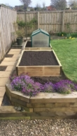 Raised Garden Beds Tanalised Timber - 3.0m (10ft) x 1.2m (4ft)