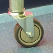 Unbraked Swivel Castor & Expander for 42.4mm Tube