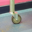 Unbraked Swivel Castor & Expander for 42.4mm / 48.3mm Tube