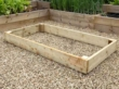 Raised Garden Beds Untreated Timber - 3.0m (10ft) x 1.8m (6ft)