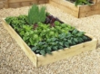 Slim Raised Garden Beds Tanalised - 1.2m (4ft) x 1.8m (6ft)