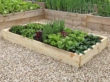 Slim Raised Garden Beds Tanalised - 2.4m (8ft) x 1.8m (6ft)