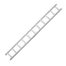 Galvanised Steel Ladder Beam - 13ft (4m)