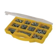 Zinc-Plated Countersink Screws Pack, 780 Pieces
