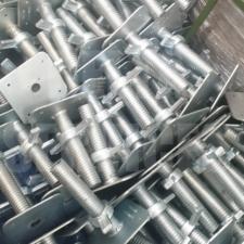 AB5 Base Jack - 4 Tonne Capacity - Zinc Plated 200mm