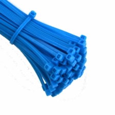 Blue Cable Ties (Zip Ties) - Pack of 100