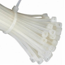 Clear Cable Ties (Zip Ties) - Pack of 100