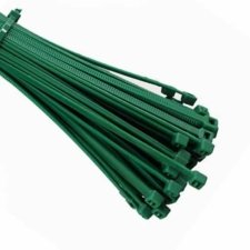 Dark Green Cable Ties (Zip Ties) - Pack of 100