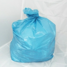 100 Medium Duty Blue Refuse Sacks - Bin Bags