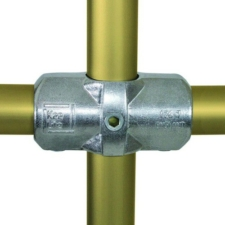Aluminium Two Socket Cross (48.3mm) - Kee Lite (L26-8)