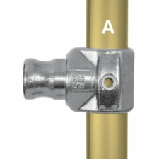 Aluminium Internal Swivel Tee (33.7mm) - Kee Lite (L114-6)