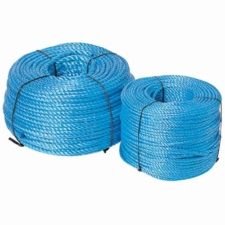 Blue Polypropylene Rope, 6mm Diameter 100m Coil