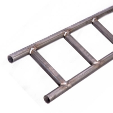 Black Non-Galvanised Steel Ladder Beam - 16ft (5m)