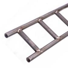 Black Non-Galvanised Steel Ladder Beam - 21ft (6.3m)