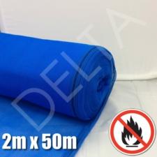 Fire Retardant Debris Netting - 2m x 50m Blue