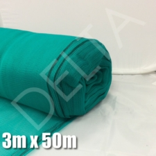 Debris Netting - 3m x 50m - Green.