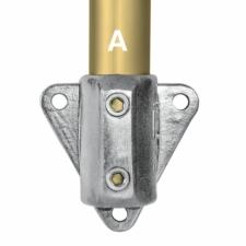 Aluminium Side Palm Fixing (33.7mm) - Kee Lite (L68-6)