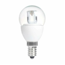 GOLF BALL CLEAR 4W (20W) SES (E14) 200 Lumens Warm White LED Light Bulb