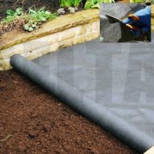Non-Woven Heavy Duty Landscape Fabric - 1m X 14m 100GSM