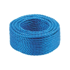 50m Coil of Scaffolding Rope, 18mm Polypropylene, Certificated