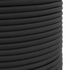 Black Shock/Bungee Cord 6mm Diameter 50m Coil