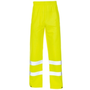 Hi Vis Storm-Flex PU Overtrousers yellow