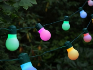 Solar String Light – 20 Colour Changing LED Party Lights