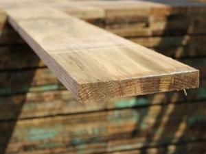 8ft (2.4m) Tanalised Timber Slim Board 22x225mm