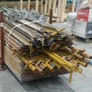 Used Kwikstage Scaffolding - 24ft (7.2m) Package - Galvanised Battens