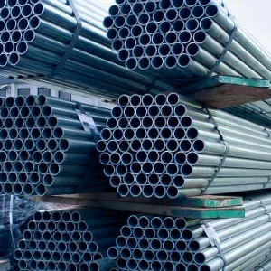 "Scaffolding Tube (Galvanised Steel) – 2.5m (8'2"") x 48.3mm O/D x 3.2 mm wall"