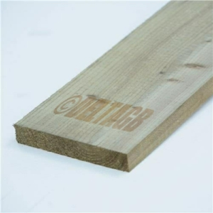 60cm (2ft) Tanalised Timber Board
