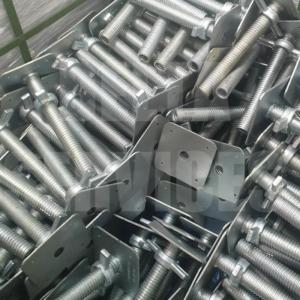 AB9 Base Jack - 4 Tonne Capacity - Zinc Plated 310mm