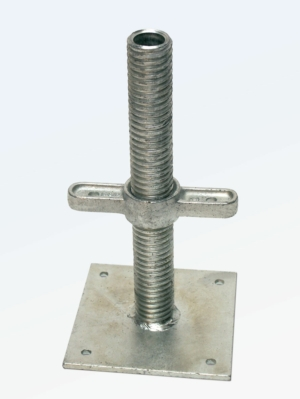 AB9 Base Jack - 6 Tonne Capacity - Zinc Plated