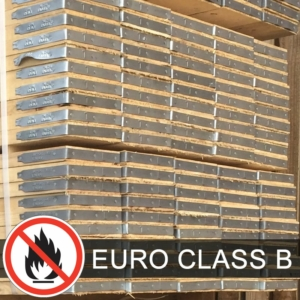 Flame Retardant Scaffolding Board - 10ft (3m) EURO CLASS B