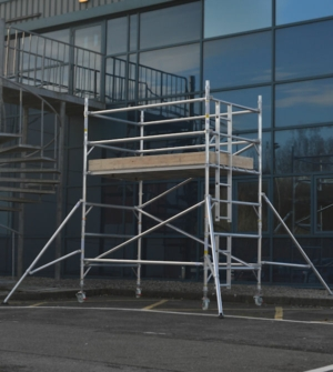 HiLyte 500 Industrial Aluminium Scaffold Tower, Double Width (1.45m)
