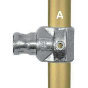 Aluminium Internal Swivel Tee (33.7mm) - Kee Lite (L114-6)