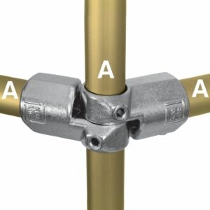 Aluminium Corner Swivel Combination (33.7mm) - Kee Lite (L19-6)
