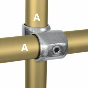 Aluminium 90 Degree Crossover (33.7mm) - Kee Lite (L45-6)